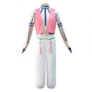 Kimetsu No Yaiba Akaza Full Set Upper Moon Three Outfits