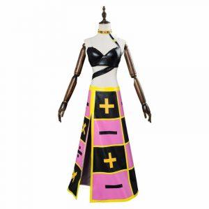 Golden Wind Trish Una Dress Anime Costume
