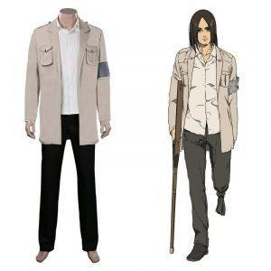 Shingeki No Kyojin Eren Cosplay Costume